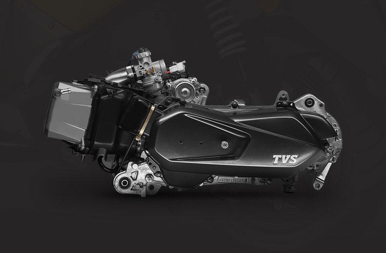 125 cc 3-valve cvti-rev engine